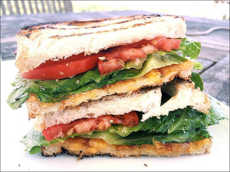 A summer spin on the grilled cheese sandwich - Toledo Blade