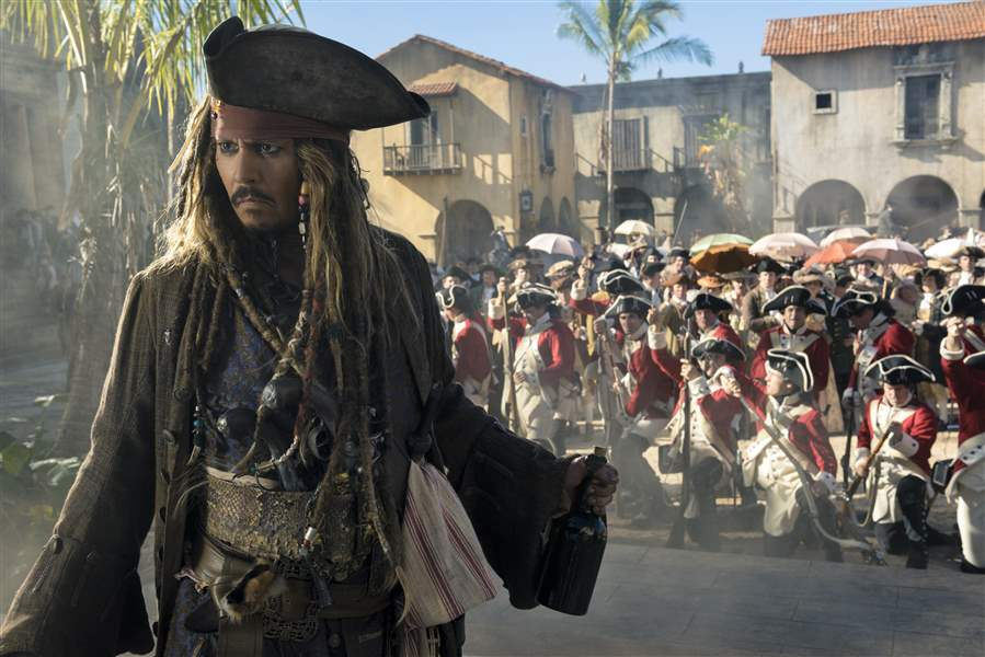 'Pirates Of The Caribbean 5' Scores $34.5M At International Box Office