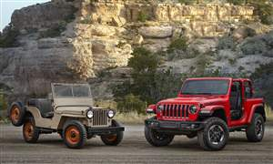 1945-Jeep-CJ-2A-and-all-new-2018-Jeep-Wrangler-Rubicon