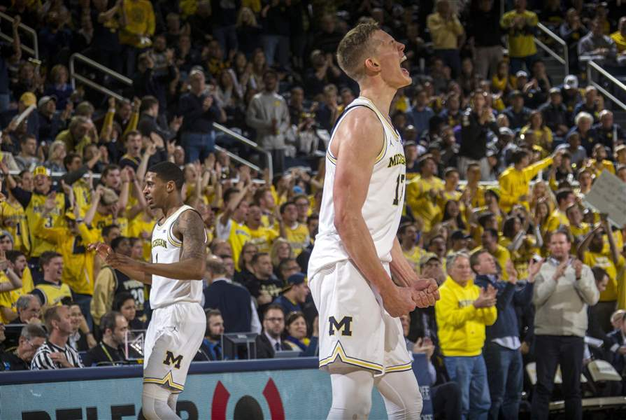 APTOPIX-Purdue-Michigan-Basketball