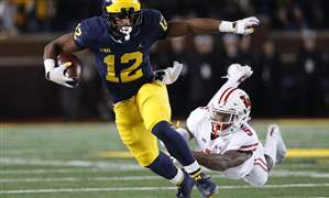 APTOPIX-Wisconsin-Michigan-Football